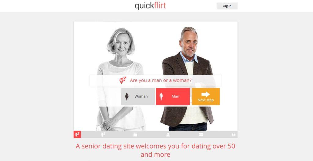 QuickFlirt.com for senior dating