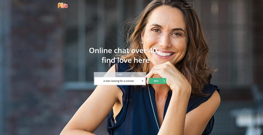 Flirt.com for mature dating over 40 in Canada