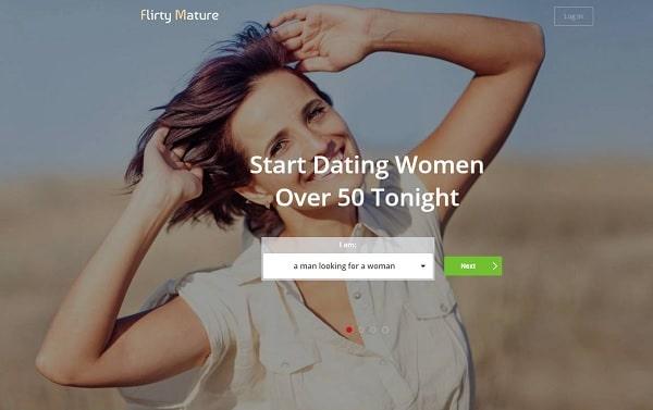 flirtymature.com for people over 50 - min