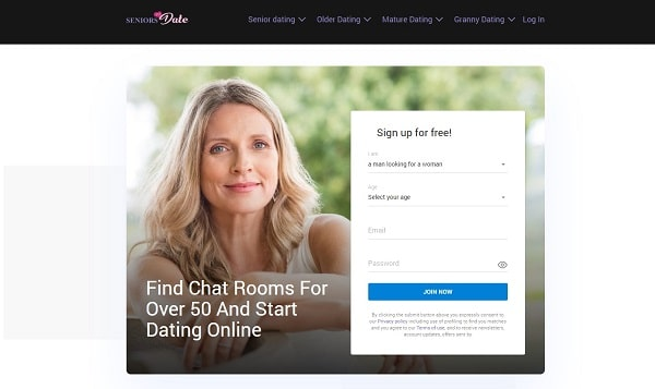 Seniorstodate chat room for over 50